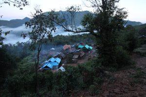 El trek equivocado en Muang Sing