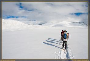 Excursión con raquetas de nieve a Sierra Custodia