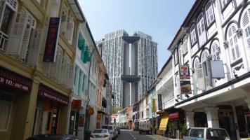 Entre el cielo y el suelo de Singapur