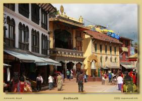 Estupa de Bodhnath