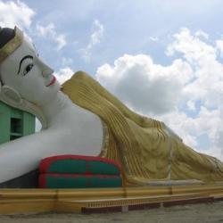 El Buda yacente de Monywa