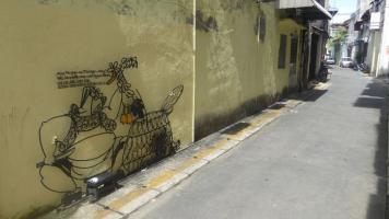 Callejeando con arte por George Town (con muchas fotos)