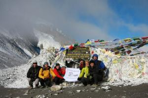 #acampadaHimalaya, probablemente la acampada mas alta del Mundo