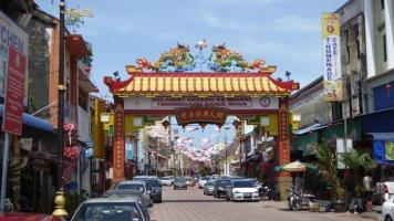 Kuala Terengganu y su barrio chino