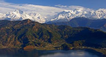 A Nepal para tocar el cielo con los pies