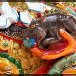 Tangkas 3D en el Monasterio de Ganzi