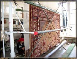 ¿Hace una alfombra uigur?