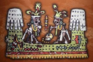 Ruinas y murales de Cacaxtla