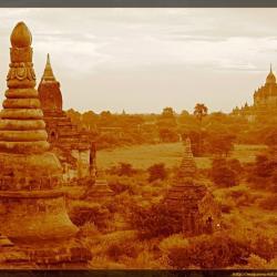 Atardeceres en Bagan (Myanmar)