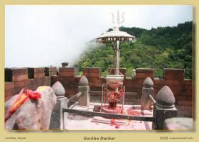 Gorkha y su Gorkha Durbar