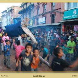 Escenas de vuelta a Bhaktapur