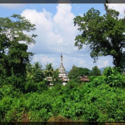 Alrededores de Bhamo (Myanmar) a pie