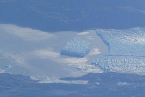 Los glaciares patagónicos vistos desde el cielo