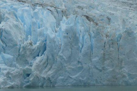 Glaciares en el Fiordo Última Esperanza